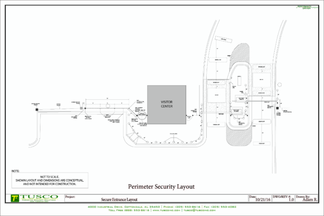 Security Site Layout and Design Consulting Services Alabama