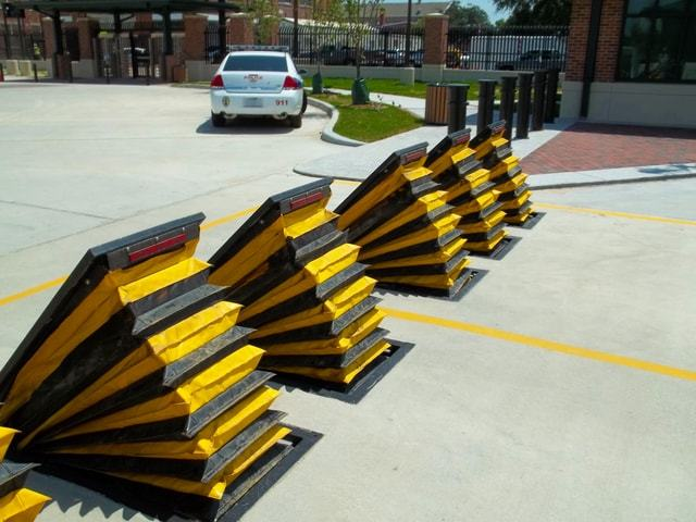 Vehicular security Wedge barriers manufacturers DoD GSA Contractor