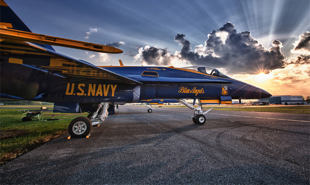 The Blue Angels at Tuscaloosa Regional Airport