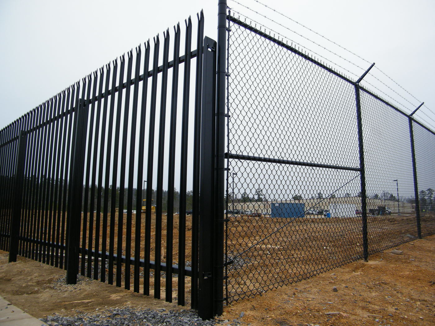 Commercial fencing security gates tusco inc
