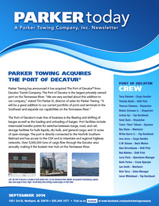 Parker Towing Acquires The Port of Decatur