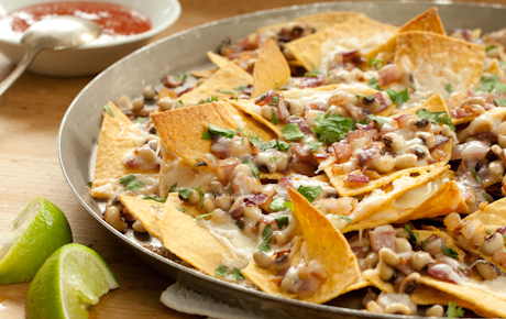 Black Eyed Pea Nachos