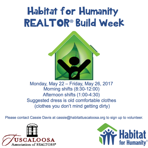 Habitat for Humanity REALTOR Build Week